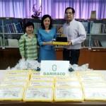 มอบสื่อการเรียนการสอน LEGO Education เพื่อเป็นของรางวัลการแข่งขันหุ่นยนต์ สพฐ. ชิงแชมป์ประเทศไทยประจำปี 2554