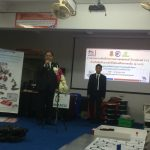 บริษัท แกมมาโก้ (ประเทศไทย) จำกัดให้การสนับสนุนของรางวัล สำหรับผู้ได้รับรางวัลจากการแข่งขันหุ่นยนต์เยาวชนชิงแชมป์ประเทศไทย ปี 2559